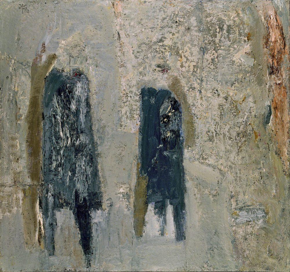 """Eugenijus Antanas Cukermanas. Argentum, 2002 (drobė, aliejus, 87.5 x 93.5 cm). """"Lewben Art Foundation"""" kolekcija"""